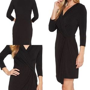 NWT Karen Kane 3/4 Sleeve Black Dress